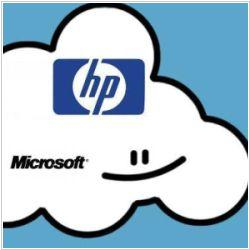 Microsoft and HP to sell Clouds together