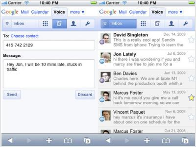 Google Voice hacked iPhone by means of HTML5