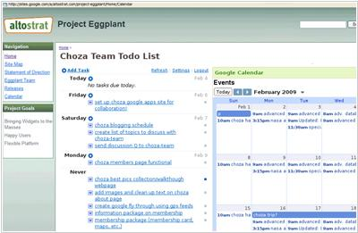 Google Sites vs Zoho Projects for project management in Google Apps