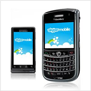 Skype comes to Symbian, Blackberry and Android. And to Verizon 3G network