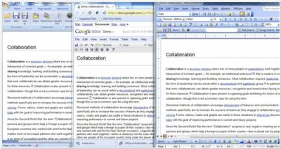 OffiSync adds almost-real-time collaborative editing between MS Office and Google Docs