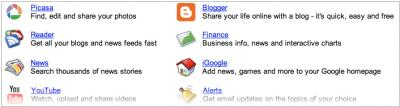 Google Apps to add blogs, RSS and galleries