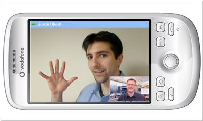 Google may outgo Skype by means of mobile video