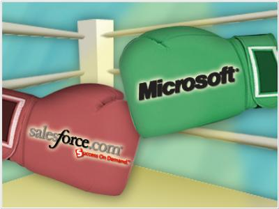 Salesforce Microsoft