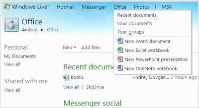 Windows Live Office and Office Web Apps are available for all