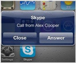 New Skype for iPhone: background mode, free calls over 3G