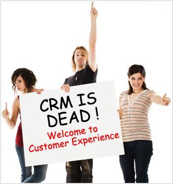 RightNow: CRM is dead