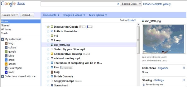 Google Docs gets new interface and new competitor - LotusLive Symphony