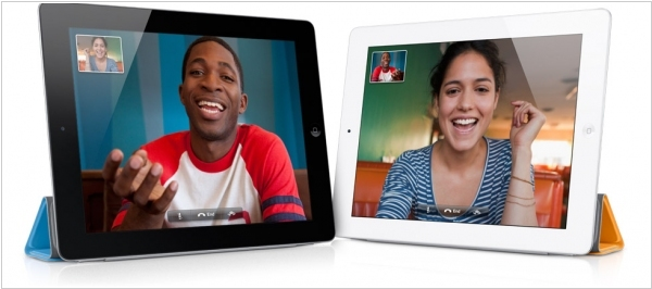 iPad 2 adds video chat