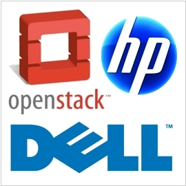 HP and Dell support OpenStack