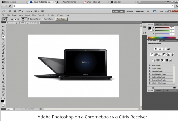 Google Chromebooks to support Windows-apps