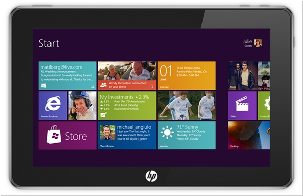 HP will keep the PC business and produce Windows 8 tablets