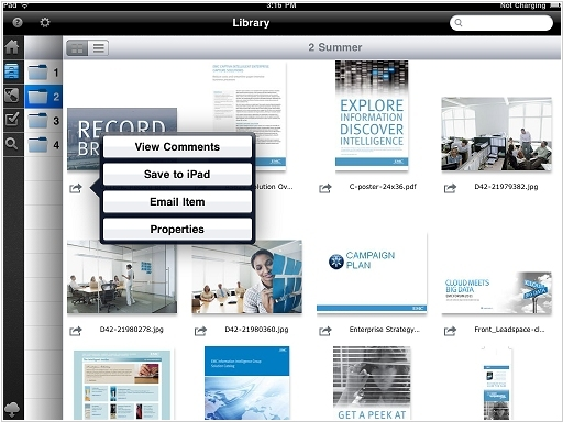 EMC offers Documentum in the Cloud and on the iPad