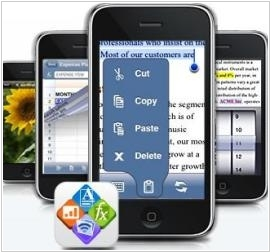QuickOffice is available on iPhone
