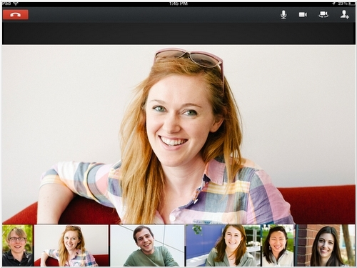 Google+ Hangouts comes to iPad and iPhone
