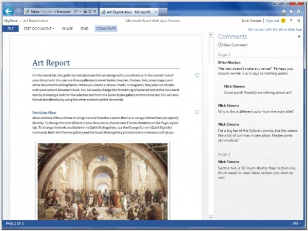 New Office Web Apps add mobile touch interface, real-time collaboration