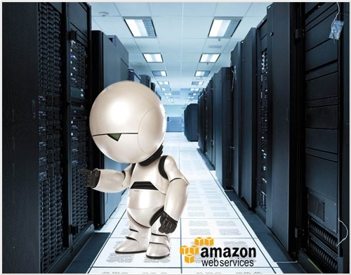 Amazon Glacier: Cloud storage service using Humanoid robots