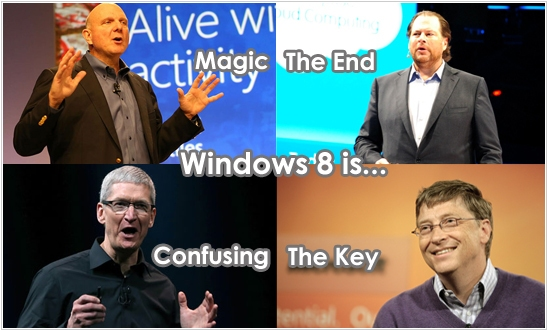 Windows 8: magic, confusing. It's the End, it's the Key