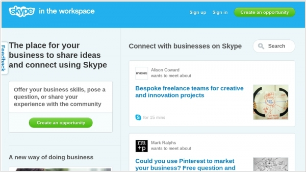 Skype In The Workspace - Microsoft wants to make a social network based on Skype