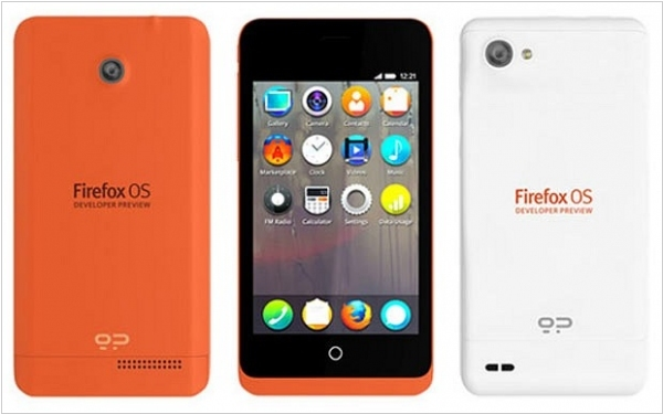 First Firefox OS phones appeared