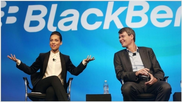 Alicia Keys is the new BlackBerry's Global Creative Director