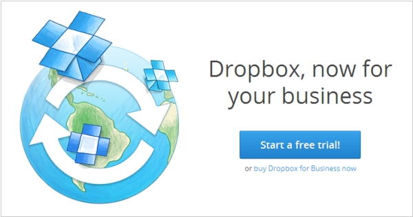 Dropbox launches Business-version