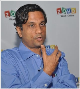Zoho CEO: Salesforce acquires, acquires, acquires, while we build, build, build