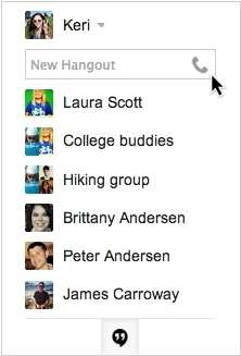 Voice calling is back in Google Hangouts