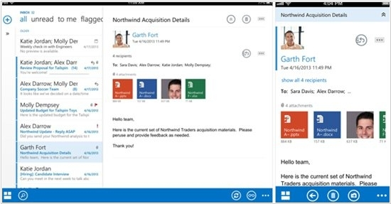 Microsoft launched Outlook for iPhone and iPad