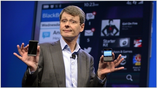 BlackBerry will (probably) sell itself and won't produce smartphones