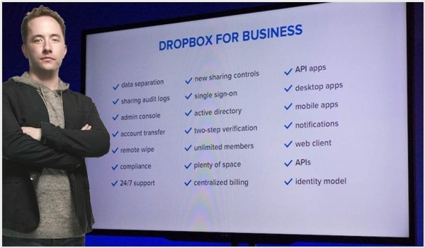 Dropbox will get down to Business. Seriously.