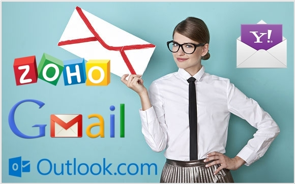 GMail, Outlook.com, Yahoo Mail and Zoho Mail: small business email news