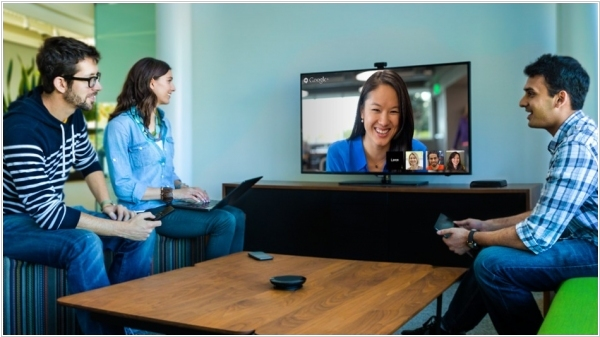 Google unveiled video conferencing system for meeting rooms