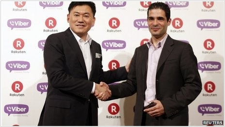 Japanese internet giant acquires Viber