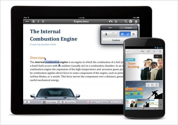 Google to discontinue QuickOffice for Android, iOS