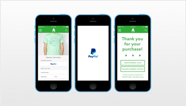 PayPal launches one-touch mobile checkout for apps