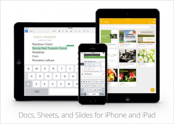 Google Docs for iPhone/iPad now can edit MS Office files