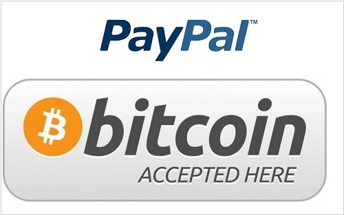 PayPal allows merchants selling digital goods to accept Bitcoin