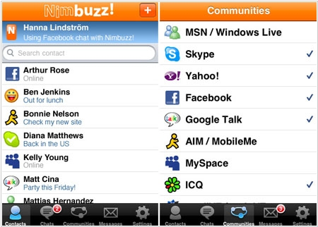 Mobile messenger Nimbuzz acquired by New Call