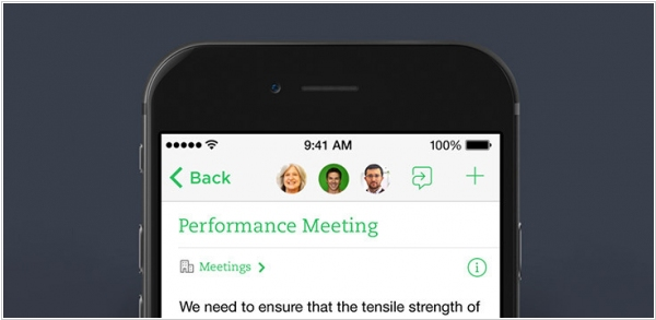 Evernote rolls out built-in chat