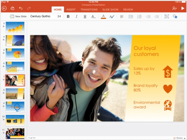 Microsoft makes Office free for iPhone, iPad and Android