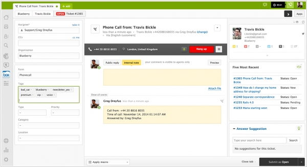 New Zendesk Voice raises the bar for phone support