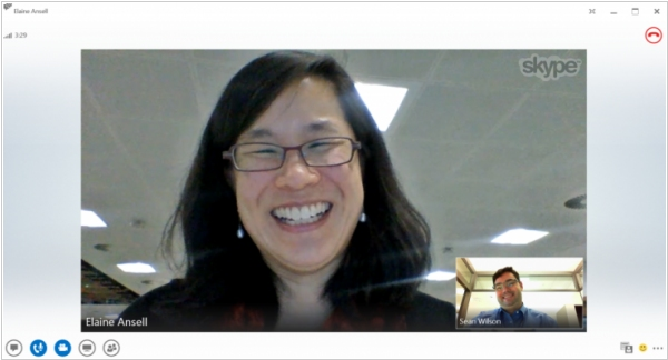 Microsoft enabled video calling between Skype and Lync users