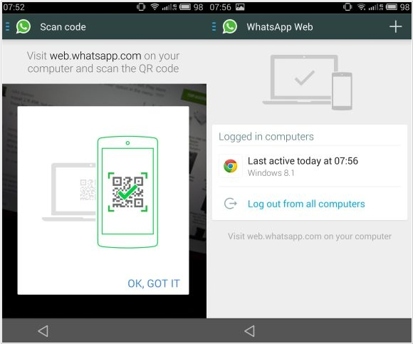 WhatsApp launches web browser version