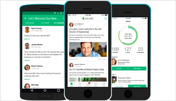 3 new Jive workstyle apps aim to simplify workplace collaboration