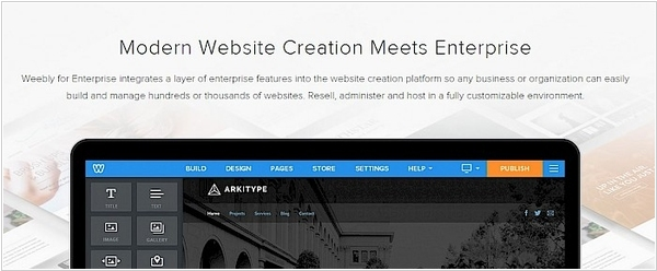 Website builder Weebly launches Enterprise version