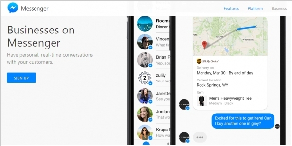 Facebook wants to replace business2customer email by its Messenger