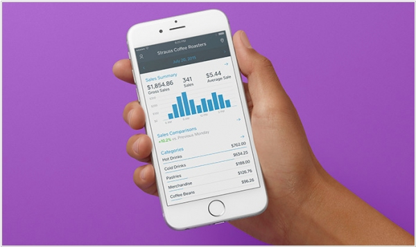 Square launched a dashboard app for iOS