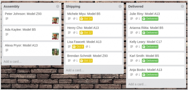 Project management service Trello adds tracking USPS, UPS, FedEx and others