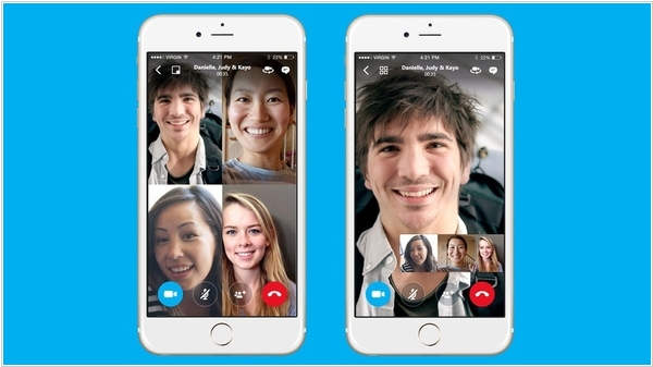 Skype adds free group video calls to mobile apps